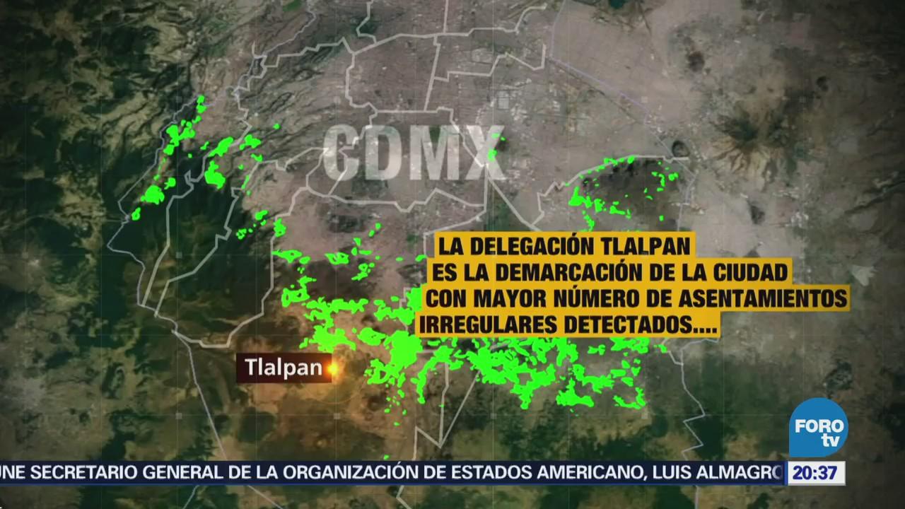 Asentamientos irregulares en la delegación Tlalpan