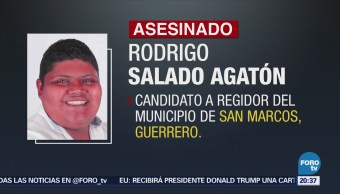 Asesinan Candidato PRI-PVEM Regidor San Marcos Guerrero