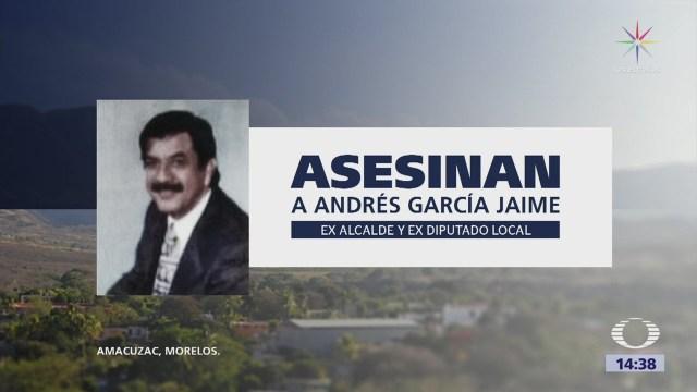 Asesinan a exalcalde de Amacuzac Morelos