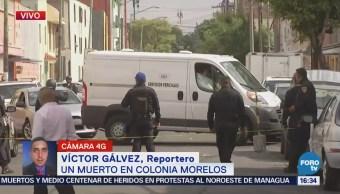 Asesinan a un hombre en la colonia Morelos