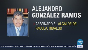 Asesinan Alcalde Pacula, Hidalgo Alejandro González Ramos