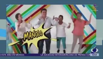Aspirante a alcaldía de Jiutepec busca la reelección bailando cumbia
