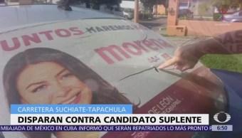 Atacan a candidato suplente por Morena al Congreso de Chiapas