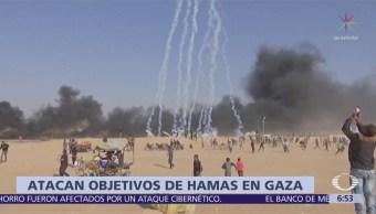 Atacan objetivos de Hamas en Gaza durante inicio del Ramadan