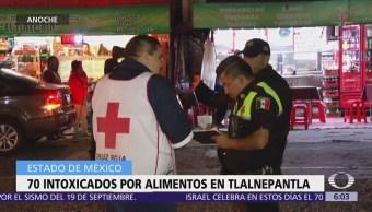 Atienden a 70 personas por intoxicación con alimentos en Tlalnepantla