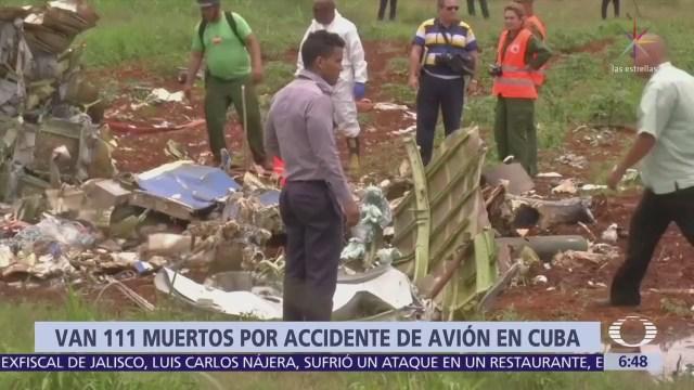 Aumenta a 111 la cifra de muertos por accidente aéreo en Cuba