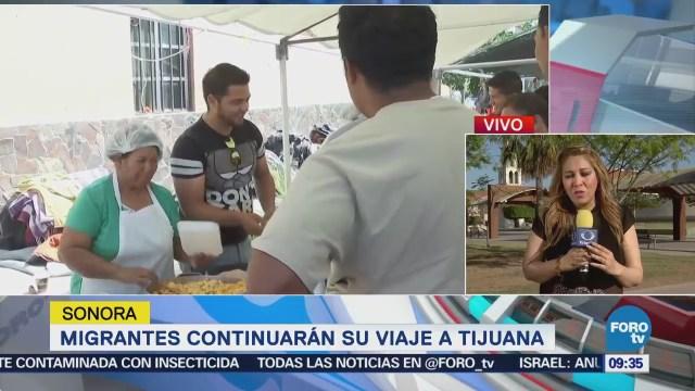 Autoridades de Sonora piden apoyo para migrantes centroamericanos en albergues