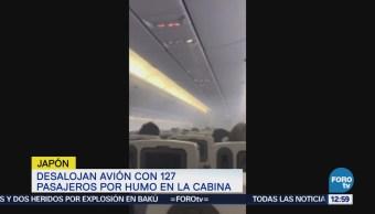 Avión con 127 pasajeros es desalojado al llenarse de humo la cabina