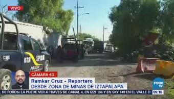 Balacera moviliza a la Policía en Iztapalapa