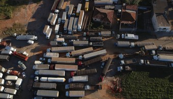 Sindicato camionero bloqueos Brasil despliegue militares