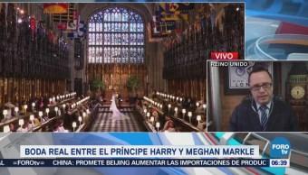Boda real entre el príncipe de Harry y Meghan Markle