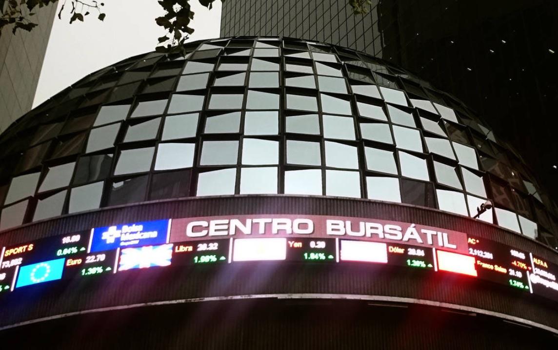 BMV pierde 0.65%, en línea con mercados globales