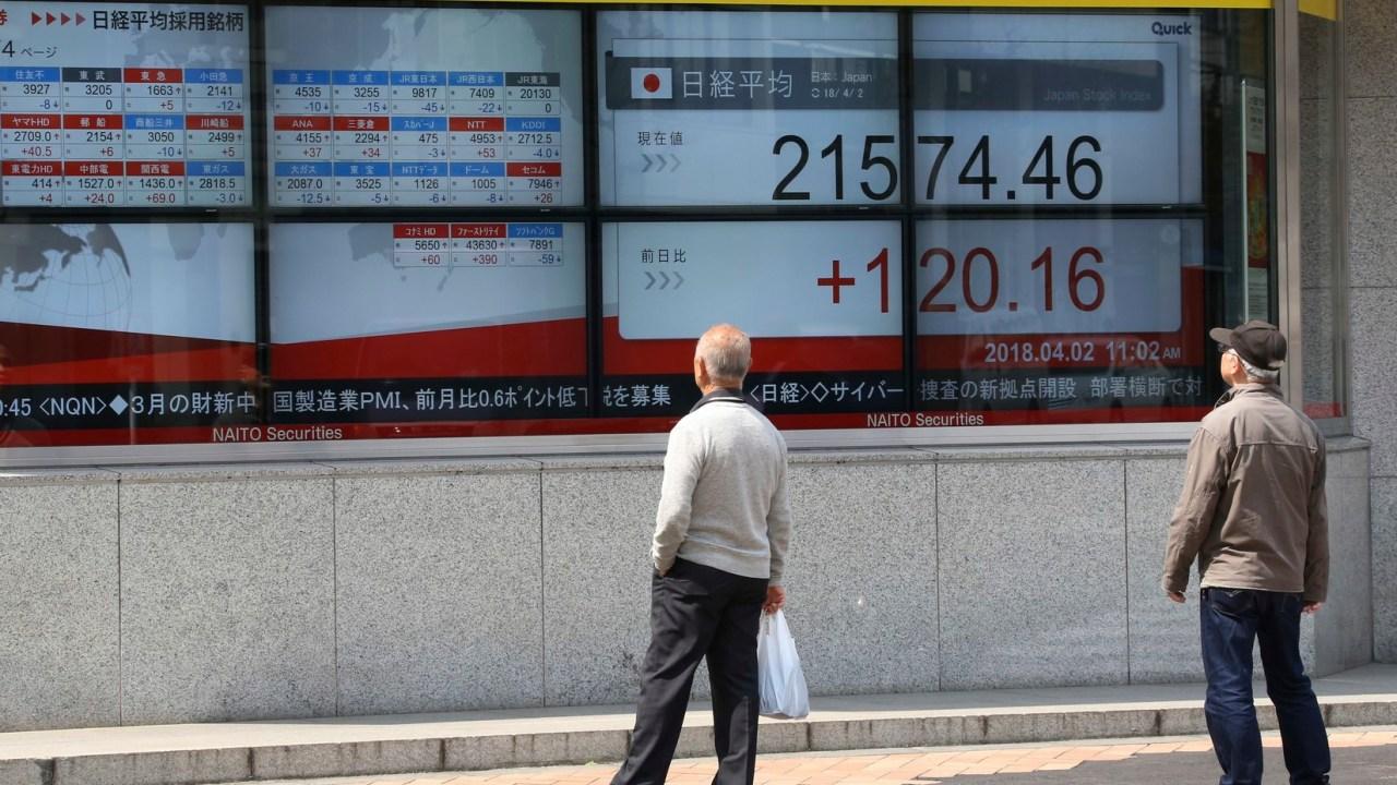 Bolsas de la región Asia-Pacífico cierran