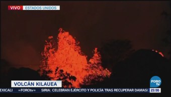 Brote de lava del volcán Kilauea