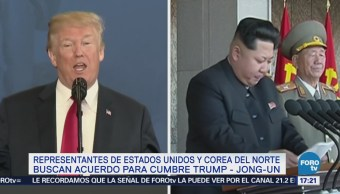 Buscan Acuerdo Cumbre Trump Jong-Un Estados Unidos