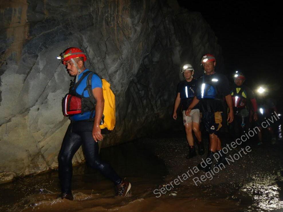 Encuentran los dos cuerpos sin vida en río subterráneo de Guerrero
