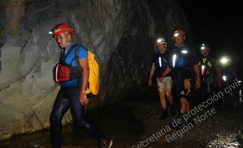 Buscan a dos mujeres desaparecidas en las grutas de Cacahuamilpa, Guerrero