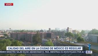 Calidad Aire Ciudad De México Regular