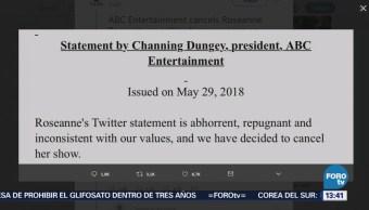 Cancelan Show Roseanne Barr EU Polémico Tuit