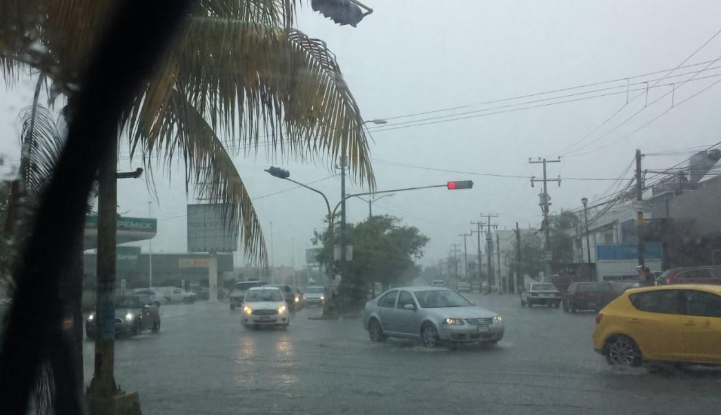 'Alberto' provocará trombas en costas Yucatán y Quintana Roo