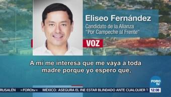 Candidato del PAN Eliseo Fernández Montufar niega audio sobre presunto fraude