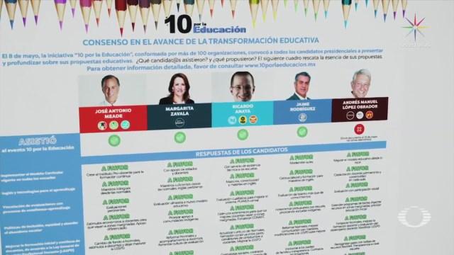 Candidatos fijan postura ante Reforma Educativa