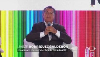 Candidatos presidenciales participan en foro 10 por la Educación