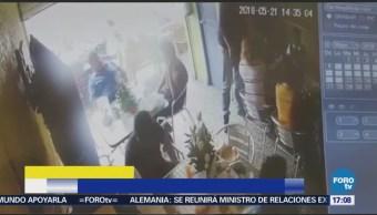 Captan Robo Establecimiento Comida Ecatepec