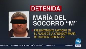 Captura PGJE de Michoacán a mujer implicada en secuestro de candidata