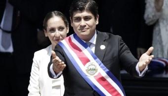 Carlos Alvarado juramenta como presidente de Costa Rica