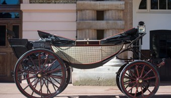 Este carruaje eligieron Enrique Meghan Markle para boda