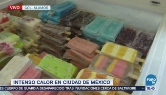 Chilangos Mitigan Calor Helados