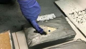 Aseguran más de 200 kilogramos de cocaína en Ensenada, Baja California