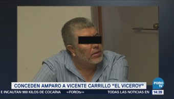 Conceden Amparo Vicente Carrillo El Viceroy