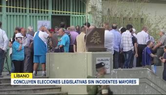 Concluyen elecciones legislativas sin incidentes mayores en el Líbano
