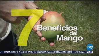Conoce los siete beneficios de consumir mango