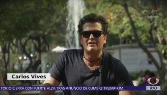 Conociendo Carlos Vives Paola Rojas Mientras Andan En Bicicleta