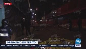 Continua operativo en Tepito