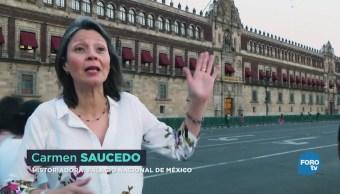 Palacio Nacional en la CDMX