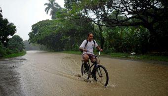 evacuados cuba tormenta alberto subtropical inundaciones