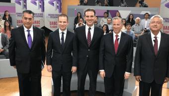 Segundo debate de los candidatos a Presidencia de la República