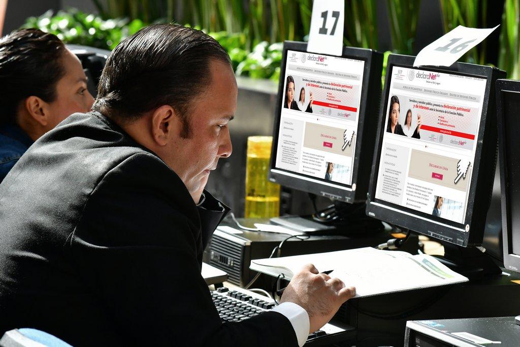 Presentan declaraciones patrimoniales de 4 mil servidores públicos
