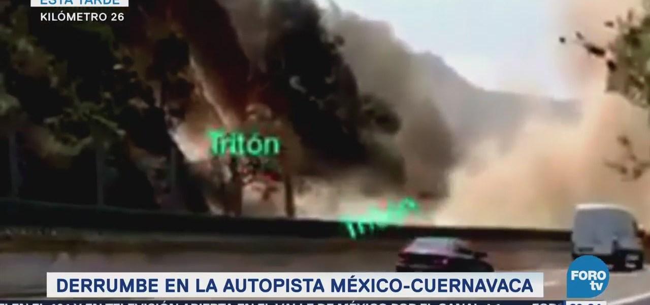 Derrumbe Autopista México Cuernavaca Capufe Video