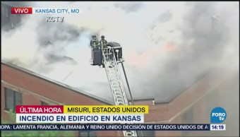 Desalojan Edificio Incendio Kansas City Eu