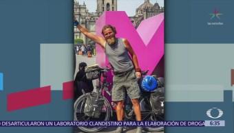 Desaparece ciclista alemán que recorría el