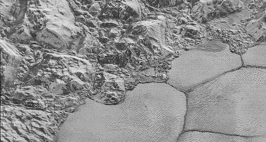 Descubren sorprendentes dunas metano Plutón NASA