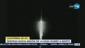 Despega Nueva Misión Nasa Rumbo Marte