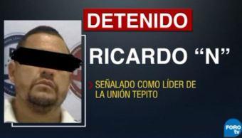 Detienen a presunto líder fundador de La Unión Tepito