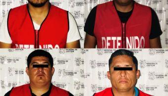 Detienen a 4 policías acusados de secuestro en Tamaulipas