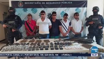 Detienen Presuntos Integrantes Guardia Guerrerense Guerrero
